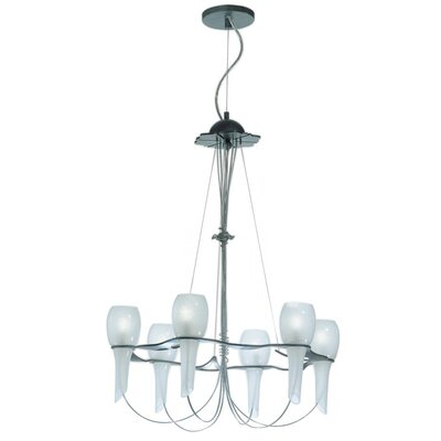 Pavia 6-Light Candle-Style Chandelier