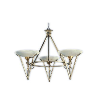 Genova 3-Light Candle-Style Chandelier