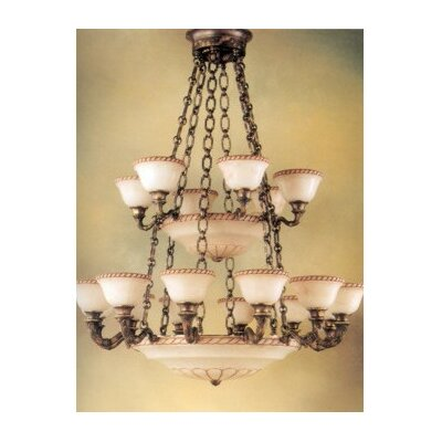 Valencia 27-Light Candle-Style Chandelier