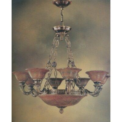 Avila 16-Light Shaded Chandelier