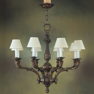 Zamora 8-Light Shaded Chandelier