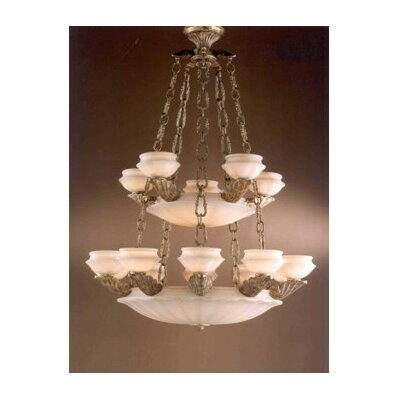 Leon 25-Light Candle-Style Chandelier