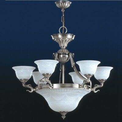 Burgos 9-Light Candle-Style Chandelier
