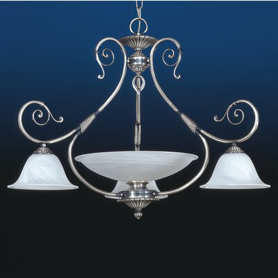 Alava 4-Light Shaded Chandelier