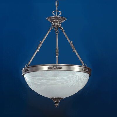 Granada 3-Light Bowl Pendant