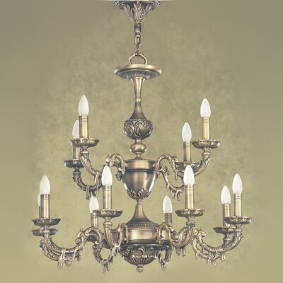 Palencia II 12-Light Candle-Style Chandelier