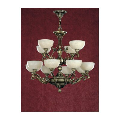 Arana 12-Light Shaded Chandelier