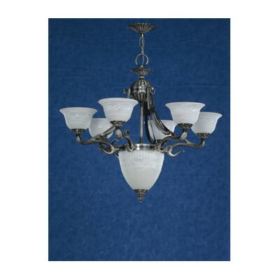 Saraso 7-Light Shaded Chandelier