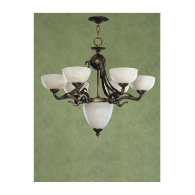 Saraso II 7-Light Shaded Chandelier