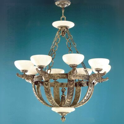 Melilla 8-Light Candle-Style Chandelier