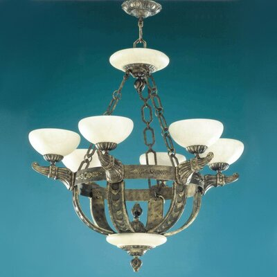 Melilla 6-Light Shaded Chandelier