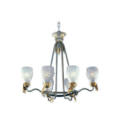Parma 6-Light Candle-Style Chandelier