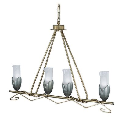 Torino 4-Light Kitchen Island Pendant