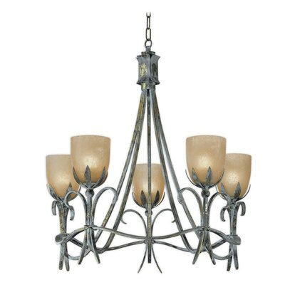 Latina 5-Light Shaded Chandelier