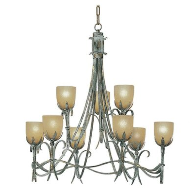 Latina 9-Light Candle-Style Chandelier