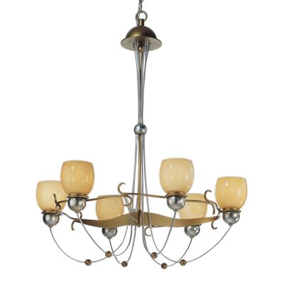 Rimini 6-Light Shaded Chandelier