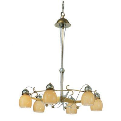 Rimini 6-Light Candle-Style Chandelier