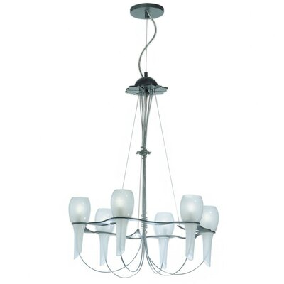Pavia 6-Light Shaded Chandelier