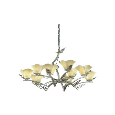 Rovigo 9-Light Shaded Chandelier