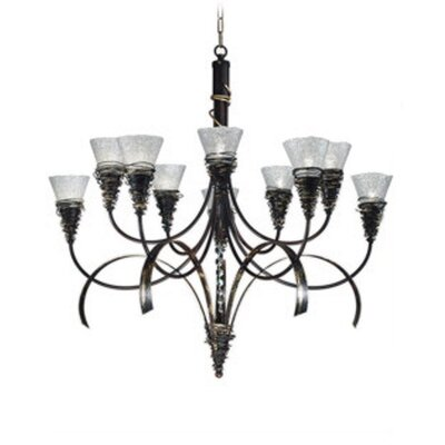 Siberia 10-Light Candle-Style Chandelier