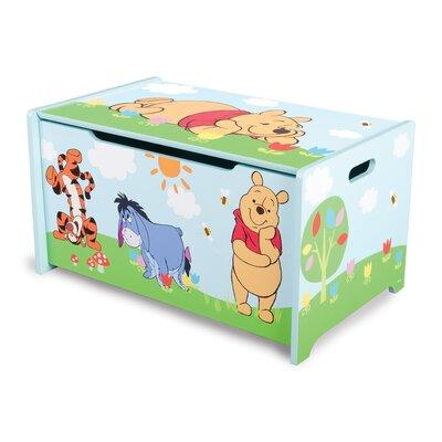 Spielzeugtruhe Winnie the Pooh | Kinderzimmer > Spielzeuge > Spielzeugkisten | Blaugrüngelb | DeltaChildren