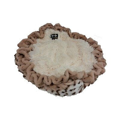 Dog Bed in a Blanket Size: 36 L x 36 W