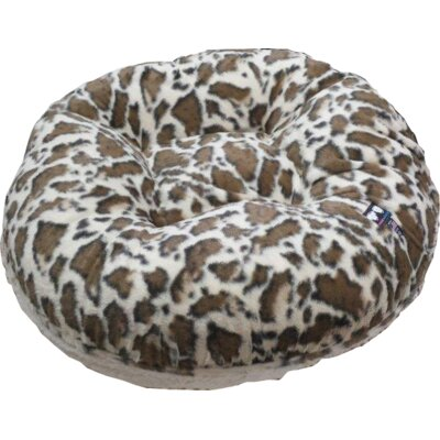 Bagel Giraffe Dog Bed Size: Extra Large (60 W x 60 D)