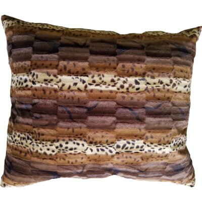 Bubba Wild Kingdom Pillow Size: 48 W x 48 D