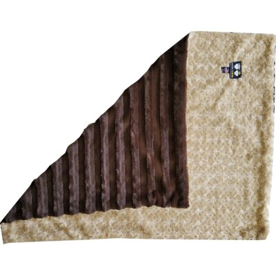 Camel Rose Crate Pad  Size: Large (18 W x 24 L)