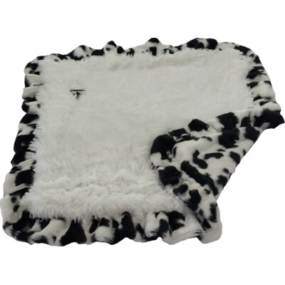 Blanket Dog Mat with Soft Fabric Size: Large (56 W x 36 D)