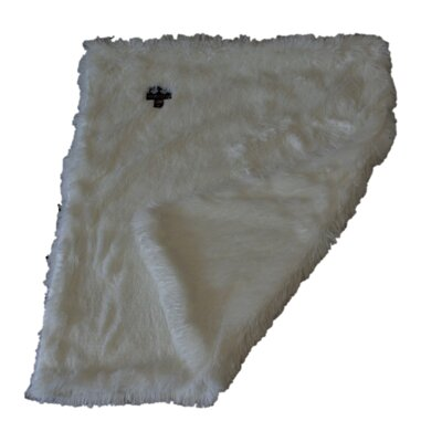 Blanket Dog Mat with Soft Fabric Size: Small (24 W x 24 D)
