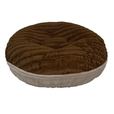 Natural Beauty Bagel Bed Size: S (30 W x 30 D x 10 H)