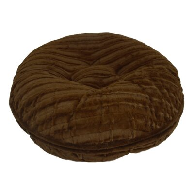 Godiva Bagel Pillow Bed Size: 36 W x 36 D x 10 H