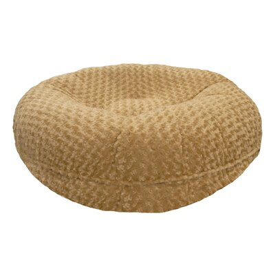 Camel Rose Bagel Bed Size: XS (24 W x 24 D x 10 H)