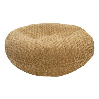 Camel Rose Bagel Bed Size: M (36 W x 36 D x 10 H)