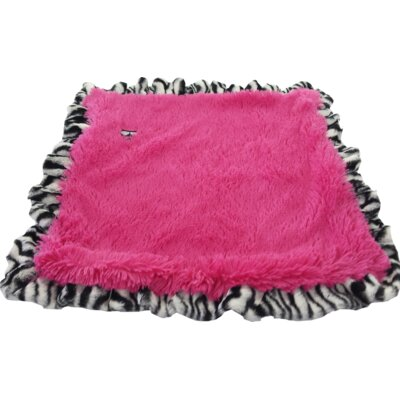 Dog Mat with Soft Fabric Size: Small (24 W x 24 D)