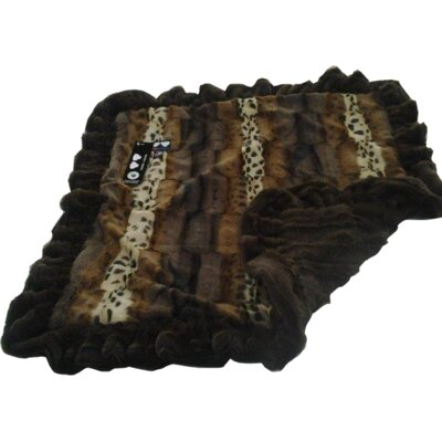Dog Mat with Soft Fabric Size: Medium (36 W x 28 D)