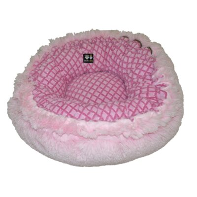 Hybrid Bagel Bolster Dog Bed with Cotton Candy Fence Size: 36 W x 36 D x 10 H