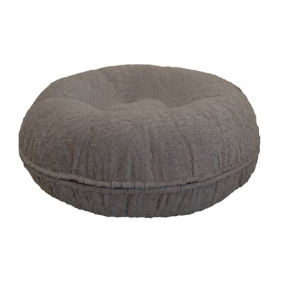 Bagel Serenity Bolster Dog Bed Size: 60 W x 60 D x 10 H