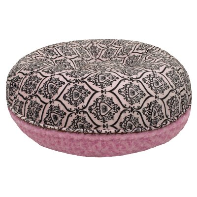 Bubble Gum Bagel Bolster Dog Bed Size: 34 W x 34 D x 10 H