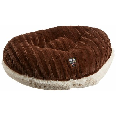 Blondie Godiva Bagel Pillow Bed Size: 30 W x 30 D x 10 H