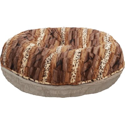 Wild Kingdom Bagel Bed Size: M (36 W x 36 D x 10 H)