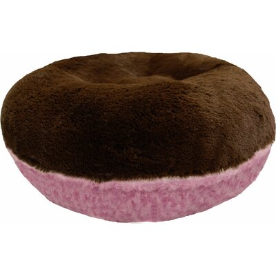 Bagel Cotton Candy Bolster Size: 24 W x 24 D x 10 H