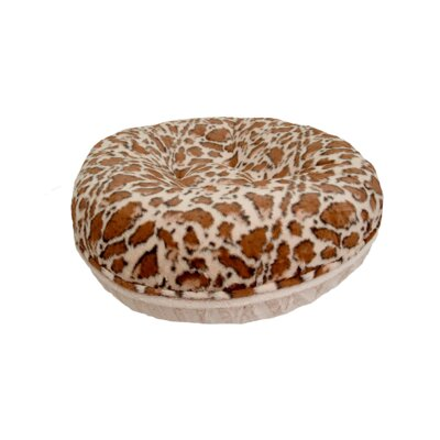 Bagel Giraffe Dog Bed Size: Extra Small (24 W x 24 D