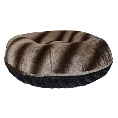 Bagel Frosted Glacier Pillow Size: Medium (36 W x 36 D x 10 H)
