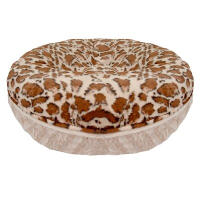 Bagel Giraffe Natural Beauty Bolster Size: 42 W x 42 D x 10 H