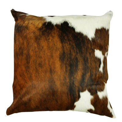 Authentic Cowhide Throw Pillow Cover