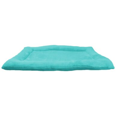 Crate Dog Bed Size: 24 L x 18 W, Color: Teal