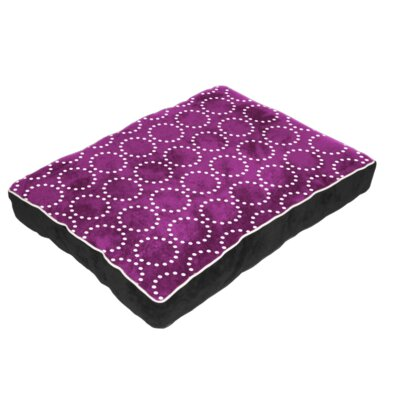 Cuddly Plush Dog Bed Size: 26 L x 20 W