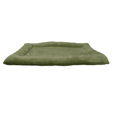 Crate Dog Bed Size: 24 L x 18 W, Color: Dark Green